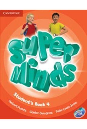Super Minds 4 - Student's Book With DVD-ROM - Puchta,Herbert pdf epub