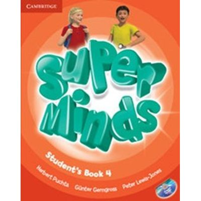 Super Minds 4 - Student's Book With DVD-ROM