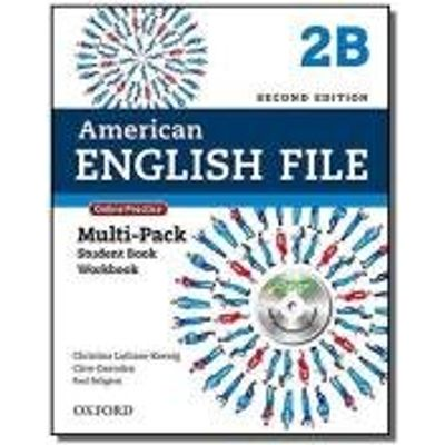 AMERICAN ENGLISH FILE - LEVEL 2B - MULTIPACK WITH