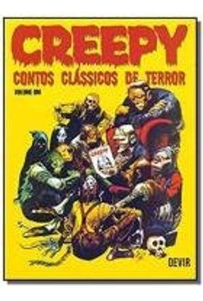 CREEPY - CONTOS CLASSICOS DE TERROR - VOL 1 - DEVI