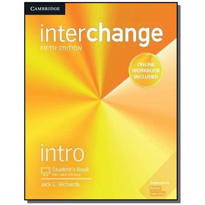 Interchange Intro Student´S Book With Online Self-Study And Online Workbook - 5Th Ed
