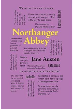 Northanger Abbey - Word Cloud Classics - Austen,Jane | Tagrny.org