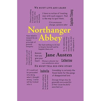 Northanger Abbey - Word Cloud Classics
