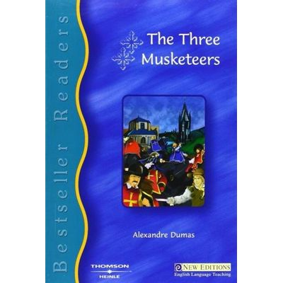 Bestseller Readers 4: The Three Musketeer - Book + Audio CD