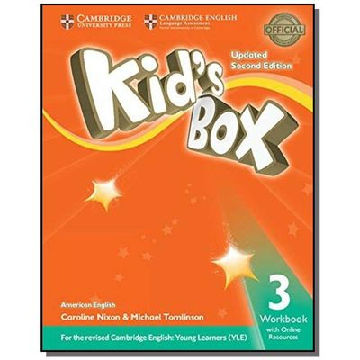 KIDS BOX AMERICAN ENGLISH 3 WB WITH ONLINE RESOURC