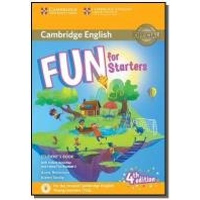 FUN FOR STARTERS STUDENTS BOOK - CAMBRIDGE