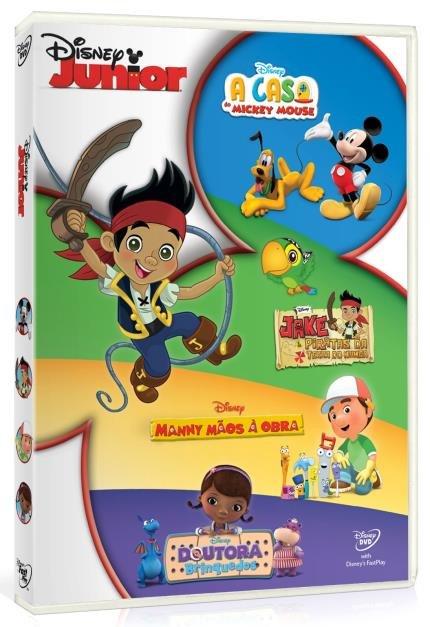 Disney Junior Casa Do Mickey Jake Manny Maos A Obra