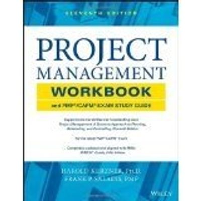 Project Management Workbook And Pmp / Capm Exam Study Guide 11Th Edition