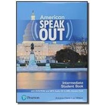 AMERICAN SPEAKOUT INTERMEDIATE SB WITH DVD-ROM AND MP3 AUDIO CD E MYENGLISHLAB - 2ND ED