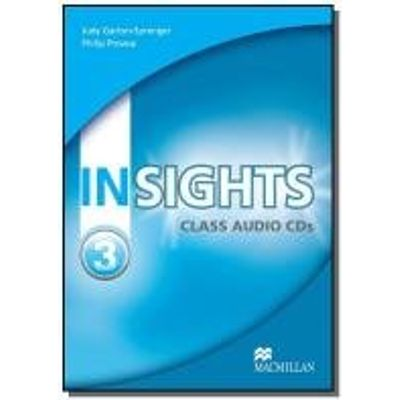 Insights 3 Class Audio Cd