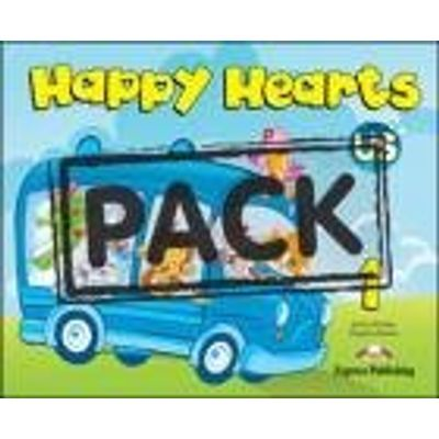 Happy Hearts Us 1 Pupil´S Pack 1 (Sb +Stickers+Press Outs+Extra Optionails 14, Songs Cd &Dvd Pal/N