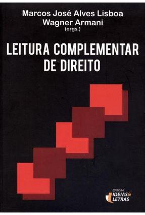 Leitura Complementar de Direito - Lisboa,Marcos José Alves   Hoshan.org