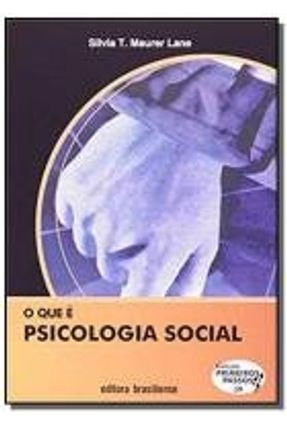 Que E Psicologia Social, O - Vol 39