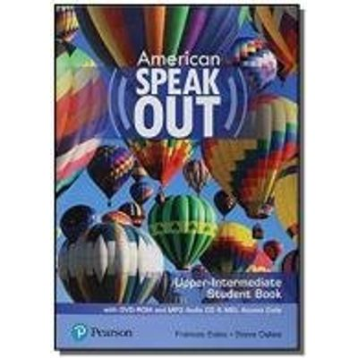 AMERICAN SPEAKOUT UPPER-INTERMEDIATE SB WITH DVD-ROM AND MP3 AUDIO CD E MYENGLISHLAB - 2ND ED