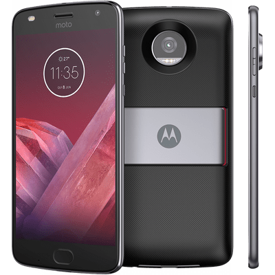 "Smartphone Motorola Moto Z2 Play Power Pack & Dtv Edition Platinum 5,5"" Android™ 7.1.1 Nougat Câm 12Mp 64G"