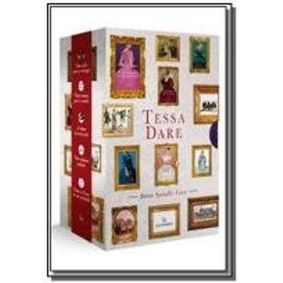 BOX TESSA DARE - SERIE SPINDLE COVE - GUTENBERG