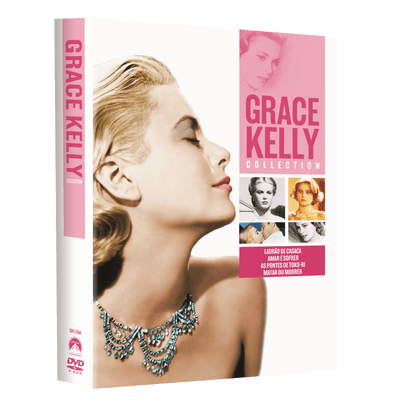 DVD Grace Kelly Collection - 4 Discos