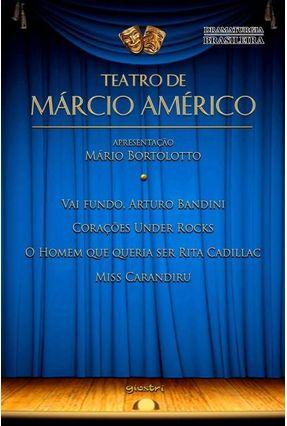 Teatro de Márcio Américo - Américo,Márcio pdf epub