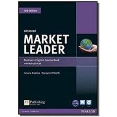 MARKET LEADER ADVANCED COURSEBOOK WITH DVD-ROM IND