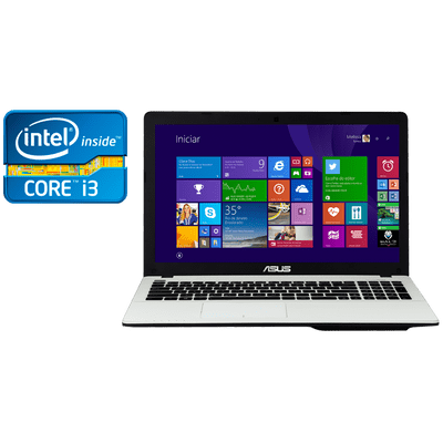 "Reembalado - Notebook Asus X550ca-Bra-Xx982h Intel® Core™ i3-3217U, 4Gb, HD 500Gb, 15.6"" W8"