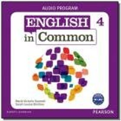 ENGLISH IN COMMON 4 AUDIO PROGRAM -CDS
