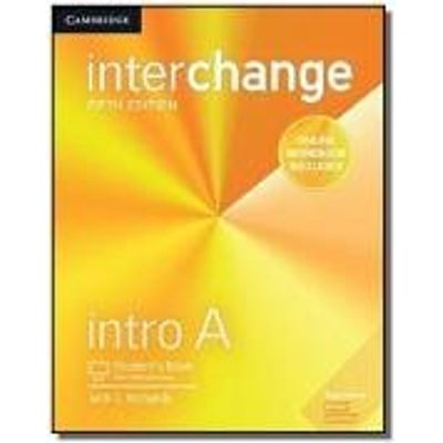 Interchange Intro A Student´S Book With Online Self-Study And Online Workbook - 5Th Ed