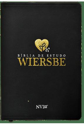 Bíblia de Estudo Wiersbe - Luxo Preta - Wiersbe,Warren W. pdf epub