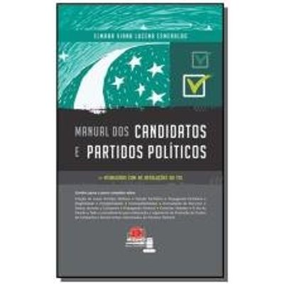 MANUAL DOS CANDIDATOS E PARTIDOS POLITICOS