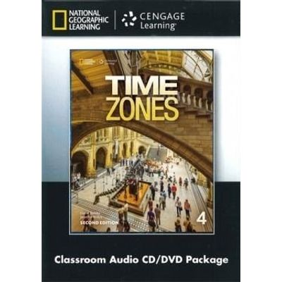 Time Zones 4 - Class Audio CD + Vídeo DVD - Second Edition