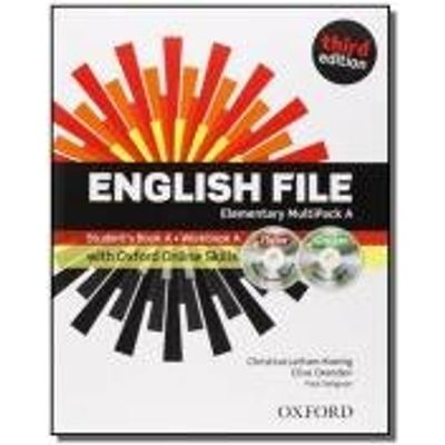 ENGLISH FILE ELEMENTARY A MULTIPACK WITH ITUTOR AN