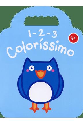 Coruja: 1 2 3 Coloríssimo 3+ - NOBEL NOBEL | Hoshan.org