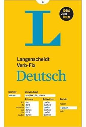 Langenscheidt Verb-Fix Deutsch - Langenscheidt Publishing pdf epub