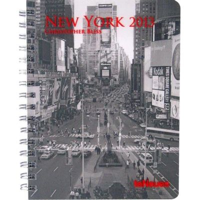Agenda Semanal Espiral Te Neues Deluxe 16.5x21,6 Medium 2013 - New York