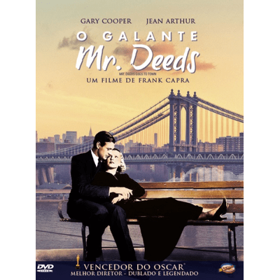 O Galante Mr. Deeds - DVD - Digipack