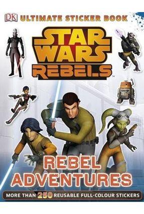 Star Wars Rebels  - Ultimate Sticker Book 1 - Dk   Hoshan.org