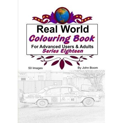 Real World Colouring Books Series 18