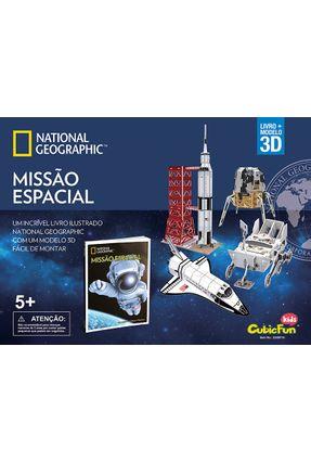 Missão Espacial - National Geographic - Cubicfun toy industrial co. Ltd | Nisrs.org