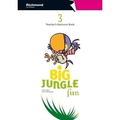 Big Jungle Fun 3 - Teacher's Resource Book
