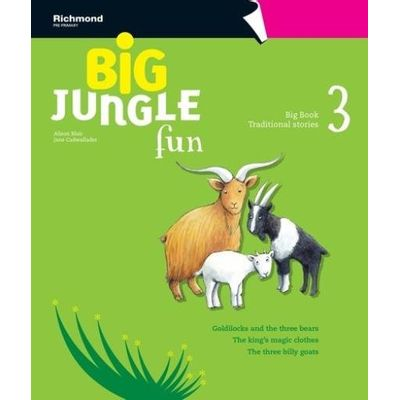 Big Jungle Fun 3 - Big Book