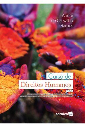 Curso De Direitos Humanos - 7ª Ed. 2020 - Ramos,André De Carvalho   Tagrny.org
