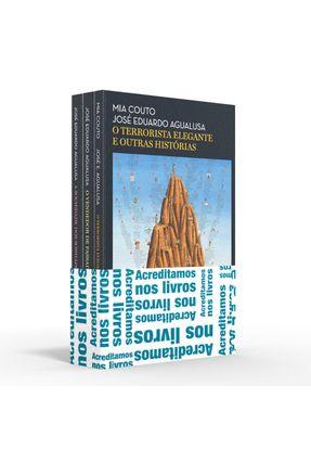 Coletânea Agualusa - Acreditamos Nos Livros - O Terrorista Elegante E Outras Histórias / O Vendedor De Passados / A Soci