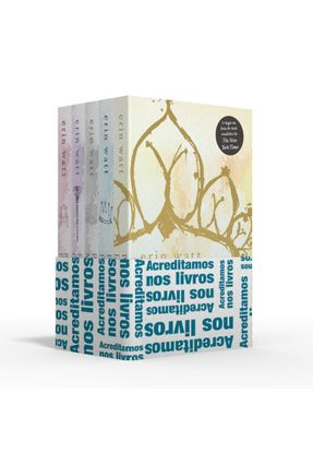 Coletânea The Royals - Acreditamos Nos Livros - Princesa De Papel / Príncipe Partido / Palácio De Mentiras / Herdeiro Ca