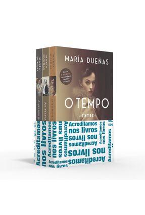 Coletânea María Dueñas - Acreditamos Nos Livros - O Tempo Entre Costuras / As Filhas Do Capitão / A Melhor História Está
