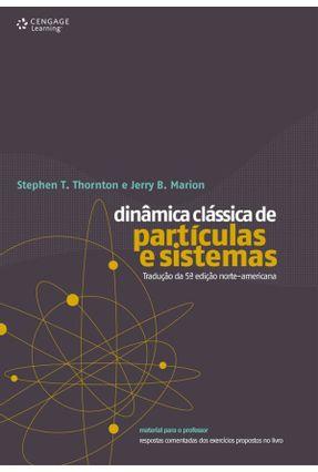 Dinâmica Clássica de Partículas e Sistemas - Marion,Jerry B. Thornton,Stephen T. | Hoshan.org