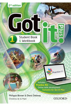 Got It! Plus - Level 1 - Student Pack - Get It All With Got It! - Second Edition - Oxford | Nisrs.org