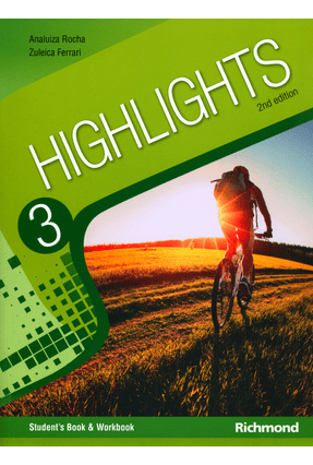 Highlights 3 - Livro o Aluno - 2ª Ed. 2014 + Multirom - Rocha,Ana Luiza Machado   Tagrny.org