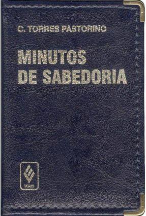 Minutos De Sabedoria Luxo - Azul - Pastorino,Carlos Torres | Tagrny.org