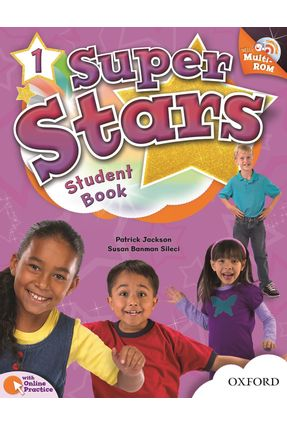 Super Stars 1 - Student´S Book With Multi-Rom - Pack - Editora Oxford | Tagrny.org