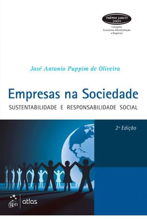 Empresas na Sociedade - Sustentabilidade e Responsabilidade Social - 2ª Ed. 2013 - Oliveira,José Antonio Puppim de   Hoshan.org