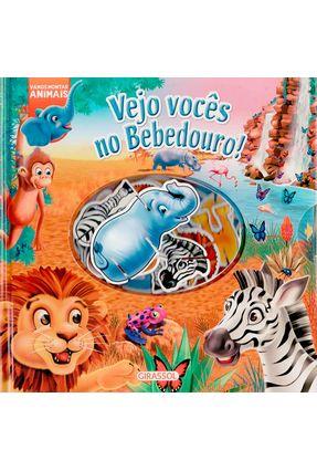Vejo Vocês No Bebedouro - Col. Vamos Montar Animais - Letra Bastão! - Brenda Apsley   Hoshan.org